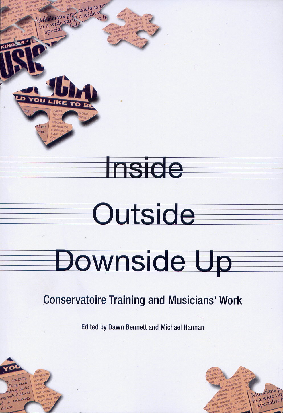 Inside Outside Downside Up book cover by Dawn Bennett and Michael Hannan