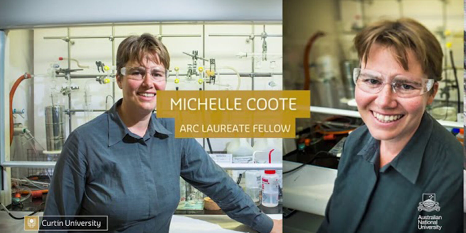 Michelle Coote - ARC Laureate Fellow - play video